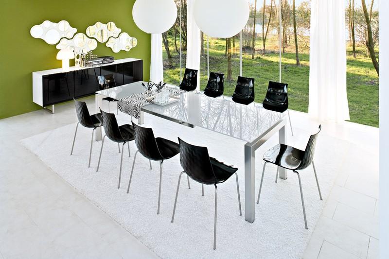 Tavoli moderni paoletti arredamenti frascati for Airport tavolo calligaris
