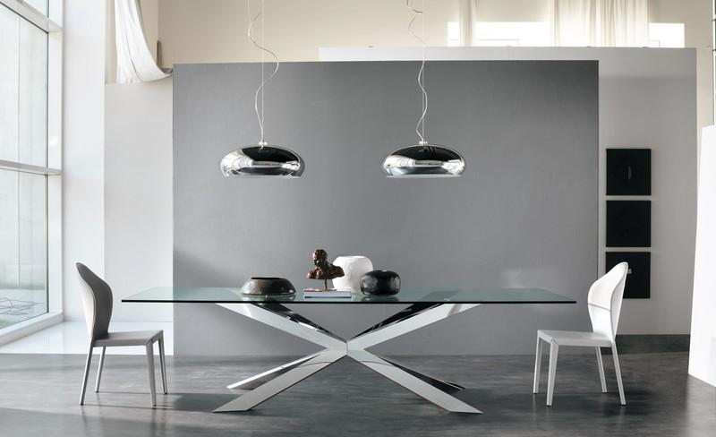 Tavoli moderni paoletti arredamenti frascati for Tavoli moderni ovali