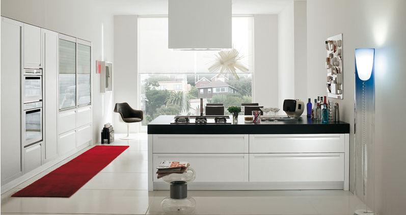 Cucine moderne paoletti arredamenti frascati - Alzatina cucina acciaio ...