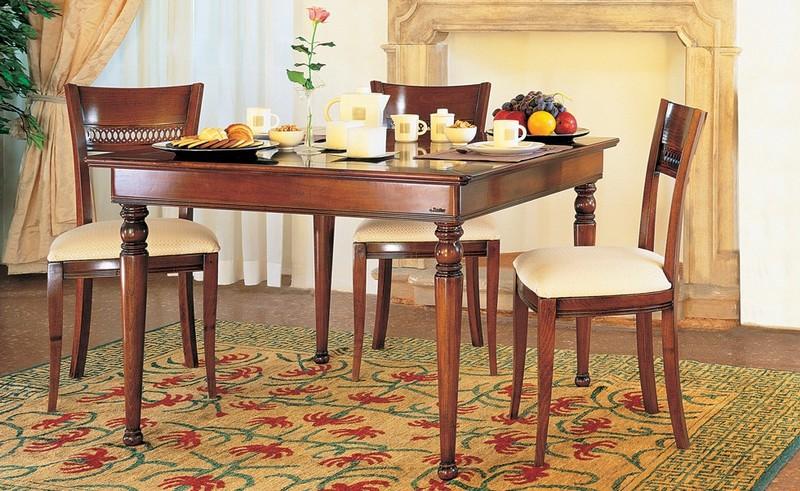 Tavoli classici paoletti arredamenti frascati - Sale da pranzo le fablier ...