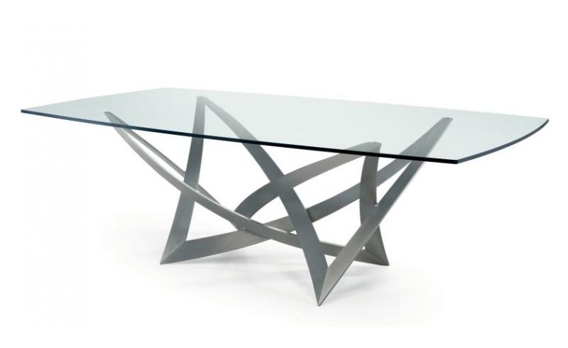 Tavoli design paoletti arredamenti frascati - Tavoli da pranzo ferro battuto e vetro ...
