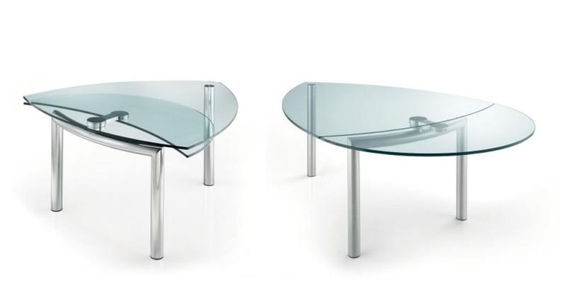 Tavoli In Cristallo Allungabili Reflex.Tavoli Design Paoletti Arredamenti Frascati