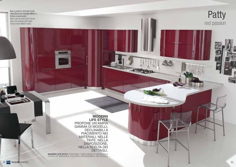 Cucine moderne paoletti arredamenti frascati - Cucine ciliegio moderne ...