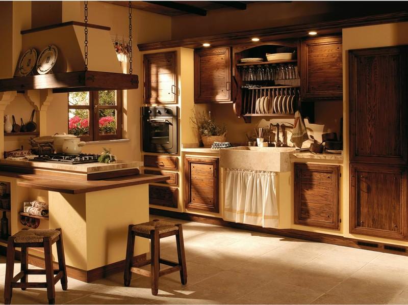 Cucine country e muratura paoletti arredamenti frascati - Cucine di campagna ...
