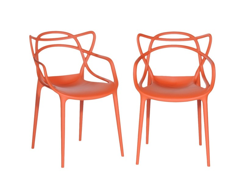 Sedie in plastica paoletti arredamenti frascati - Sedia masters kartell ...