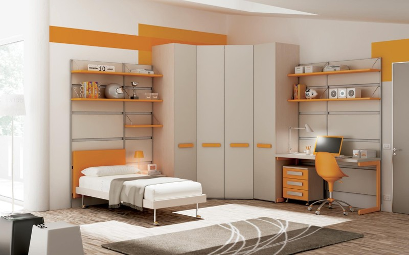 Camerette moderne paoletti arredamenti frascati for Sme arredamenti