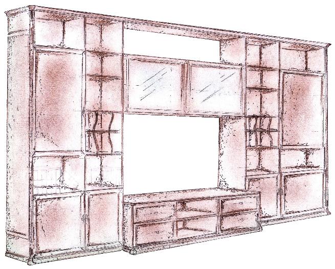 Librerie e pareti attrezzate paoletti arredamenti frascati for Librerie pareti attrezzate